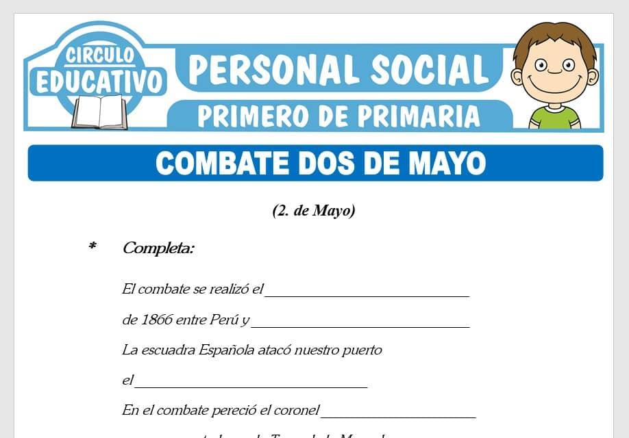 Combate de Dos de Mayo para Primero de Primaria