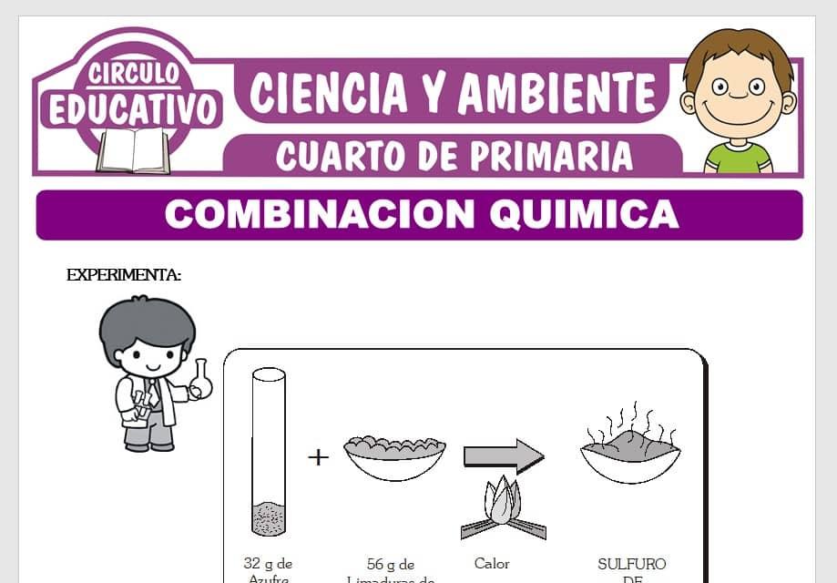 Combinación Química para Cuarto de Primaria