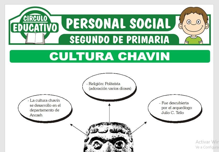 Cultura Chavin para Segundo de Primaria