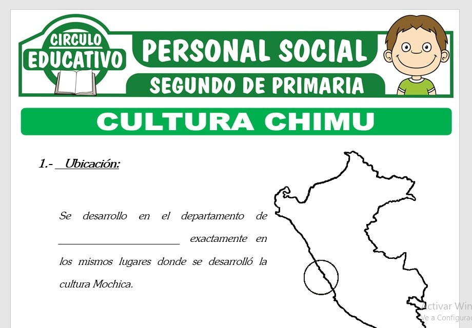 Cultura Chimu para Segundo de Primaria
