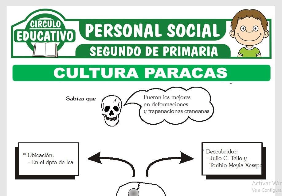 Cultura Paracas para Segundo de Primaria