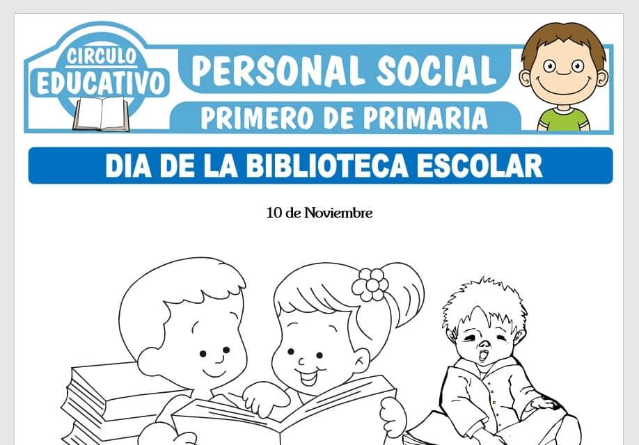 Día de la Biblioteca Escolar para Primero de Primaria
