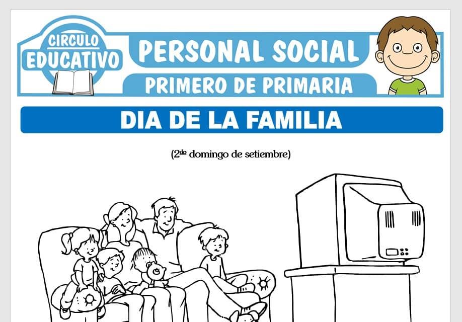 Día de la Familia para Primero de Primaria