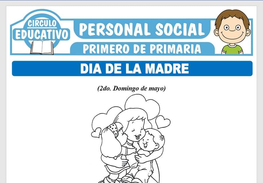 Día de la Madre para Primero de Primaria