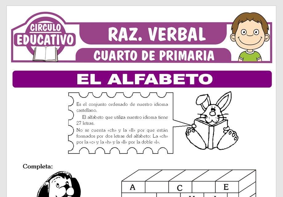 El Alfabeto Español para Cuarto de Primaria