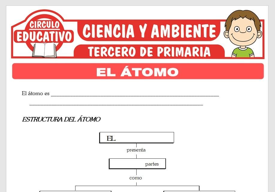 El Átomo y su Estructura para Tercero de Primaria