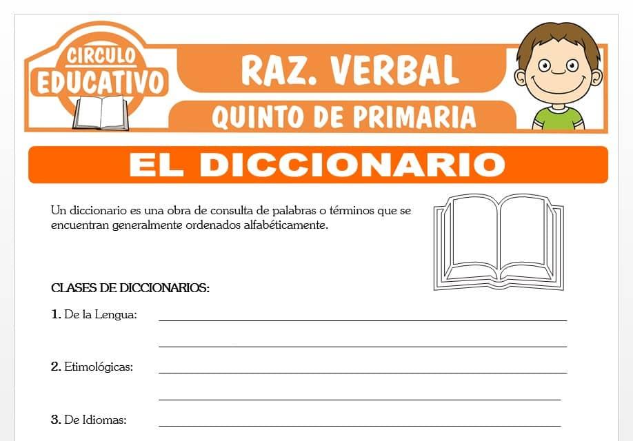 El Diccionario para Quinto de Primaria