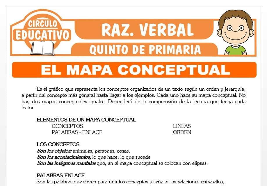 El Mapa Conceptual para Quinto de Primaria