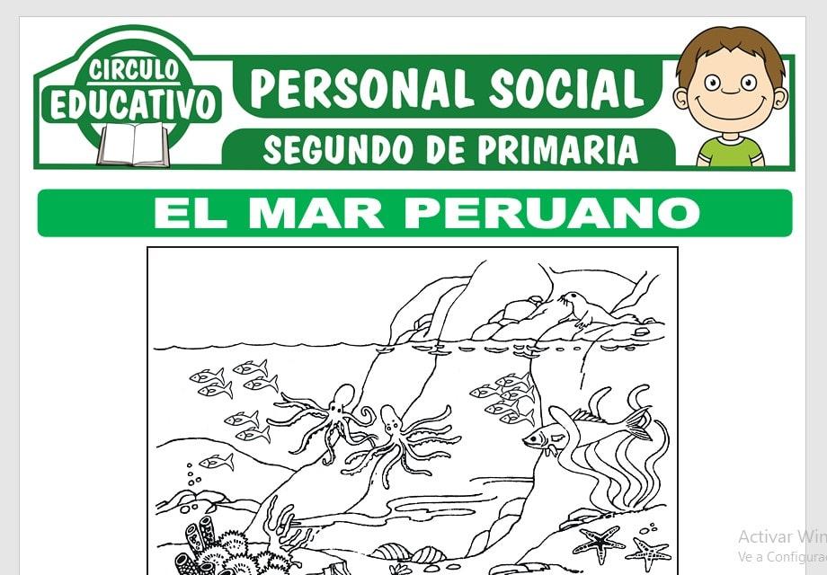 El Mar Peruano para Segundo de Primaria