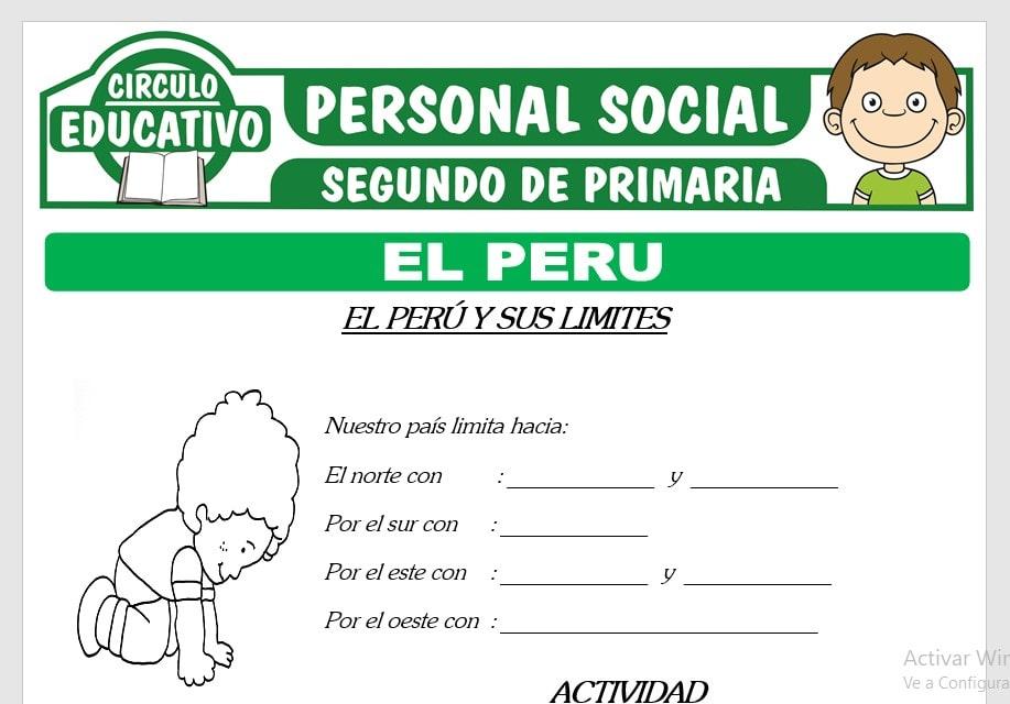 El Perú para Segundo de Primaria