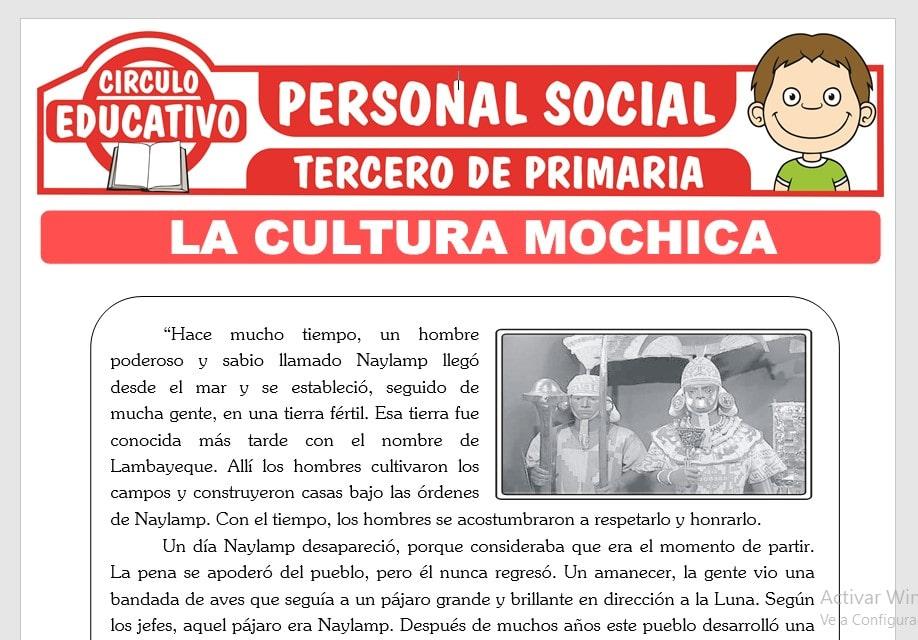 La Cultura Mochica para Tercero de Primaria