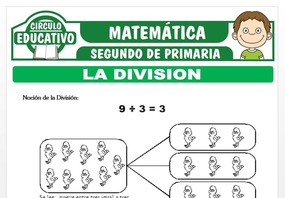 La División para Segundo de Primaria