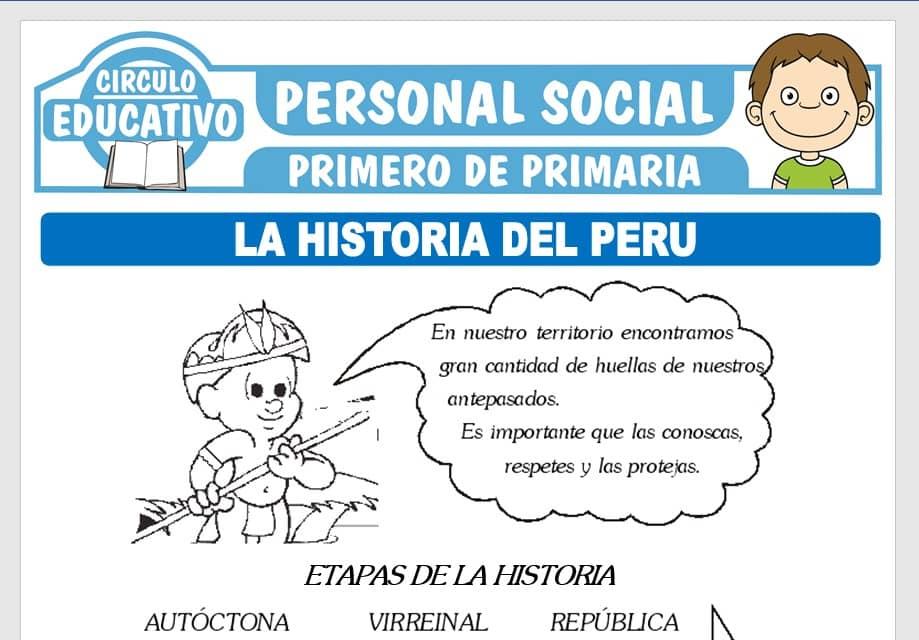La Historia del Perú para Primero de Primaria