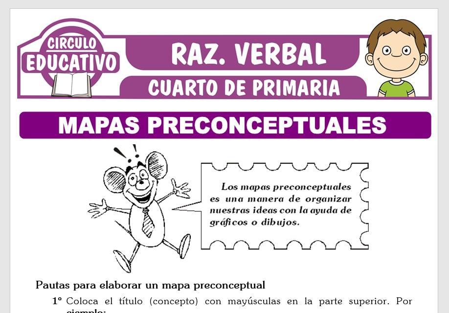 Mapa Preconceptual para Cuarto de Primaria