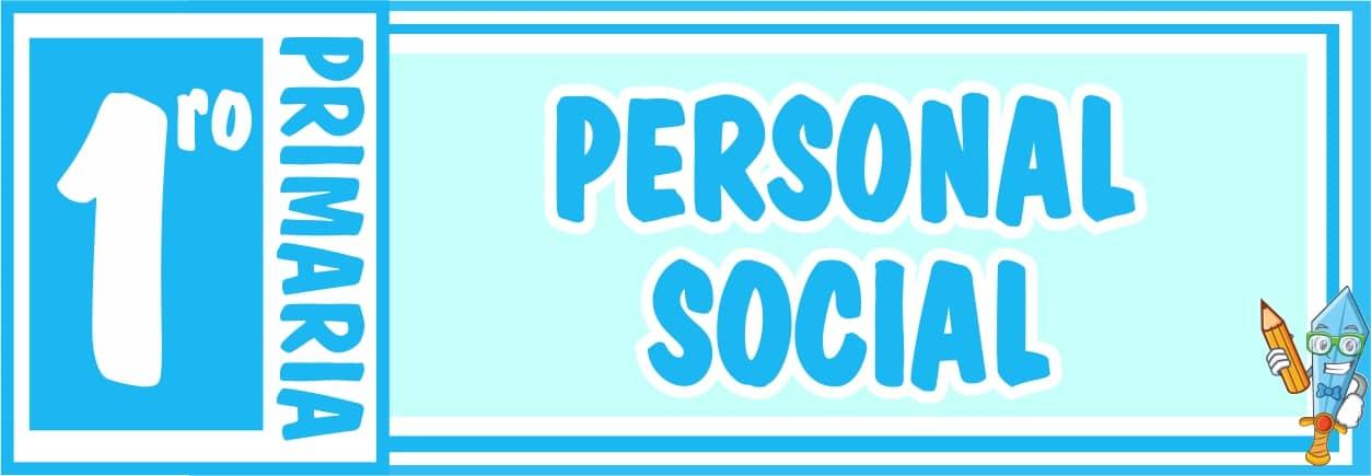 Personal Social Primero de Primaria