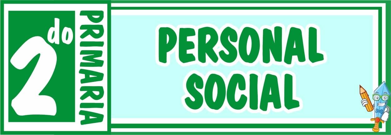 Personal Social Segundo de Primaria