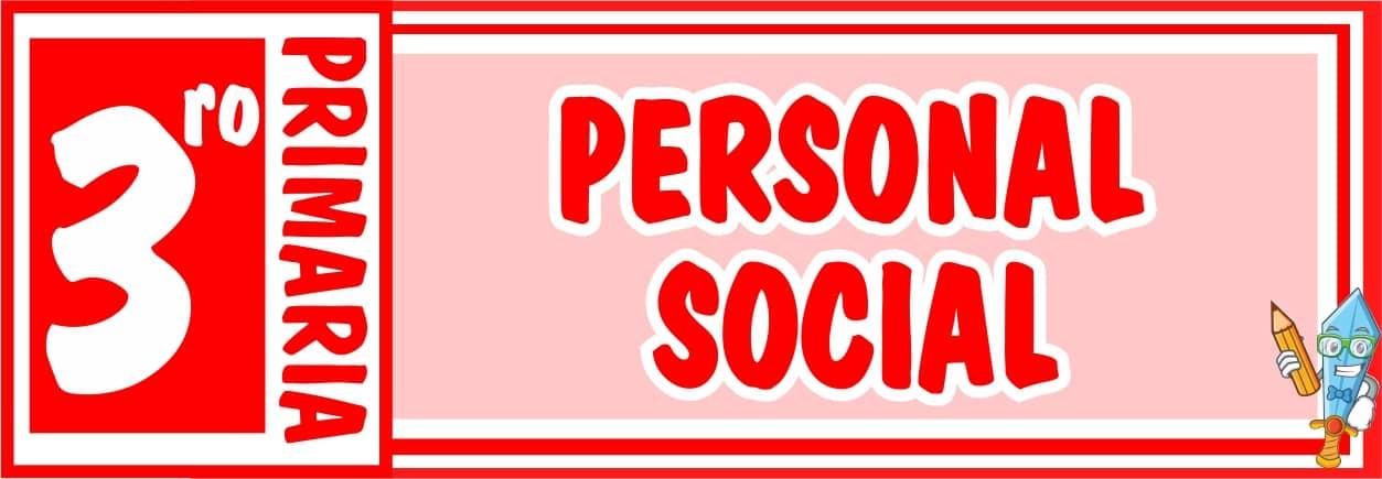 Personal Social Tercero de Primaria