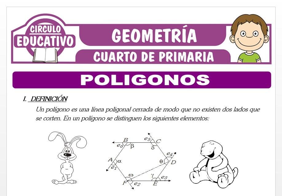 Polígonos para Cuarto de Primaria