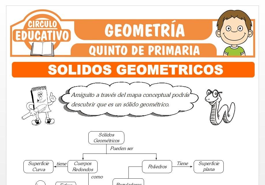 Problemas de Sólidos Geométricos para Quinto de Primaria